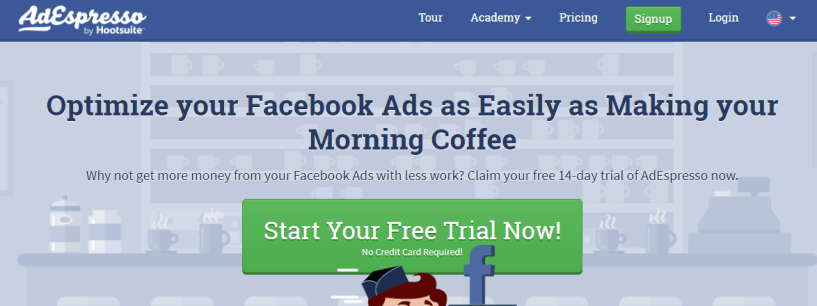 AdEspresso- Facebook Ads Spy Tools
