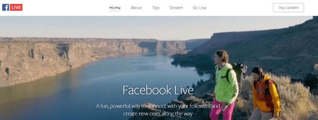 Facebook Live- Facebook Live Broadcast