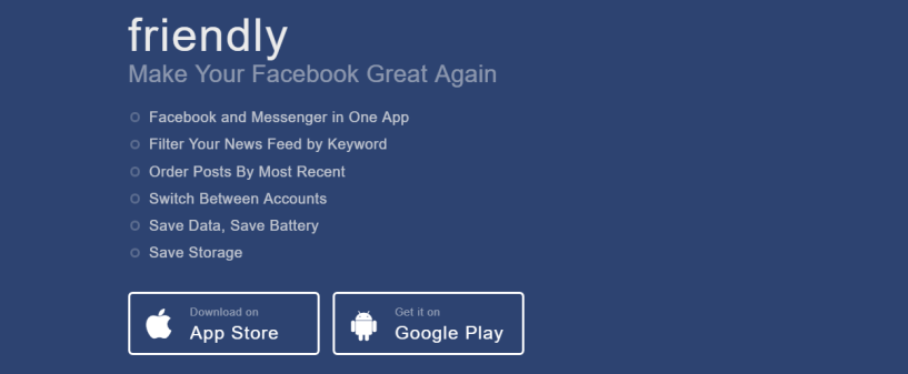 Friendly Social- Facebook Messenger Apps
