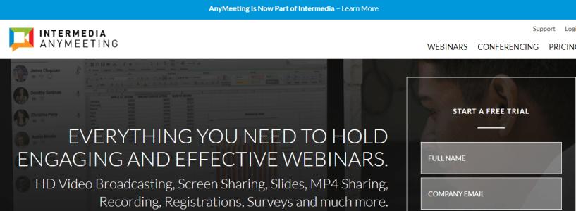 AnyMeeting- Webinar Sofware