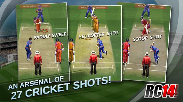 Real Cricket 17- Free Cricket Games
