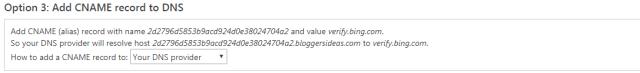 Bing Webmaster Tool