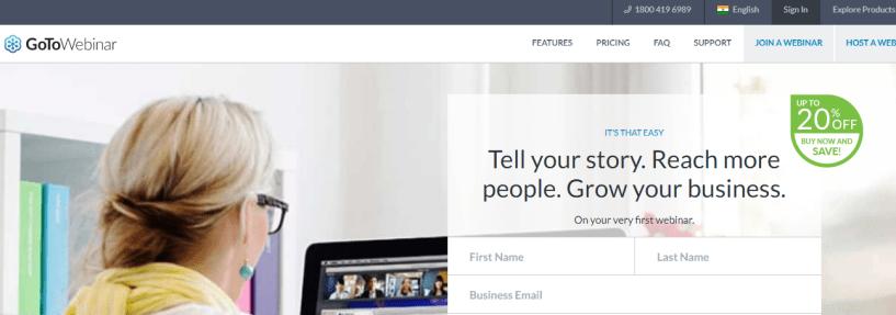 GoToWebinar- Webinar Software