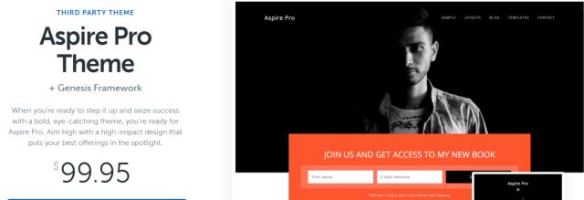 Aspire Pro - WordPress Blog Themes