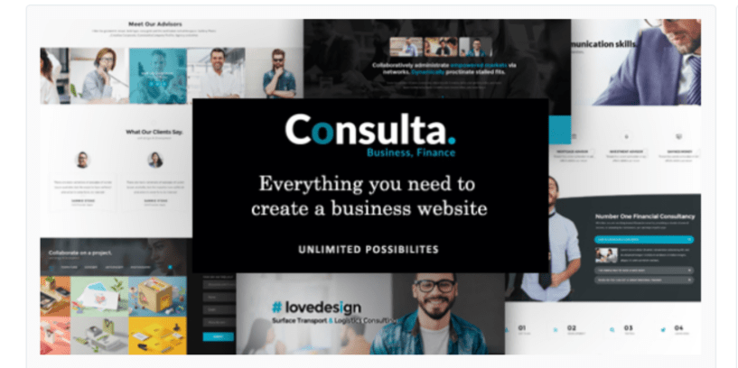 Consulta- WordPress BusinessThemes