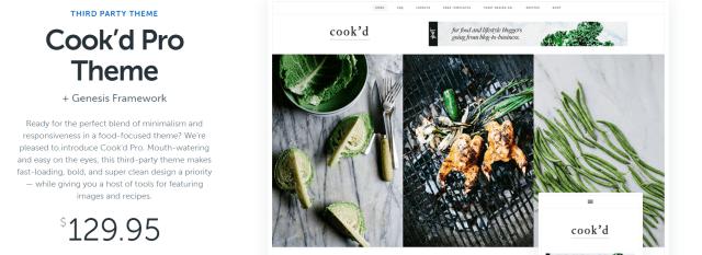 Cook d Pro -WordPress Blog Themes