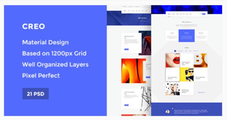 Creo — Marketplace WordPress Themes