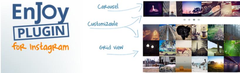 Enjoy Instagram — WordPress Instagram Plugins