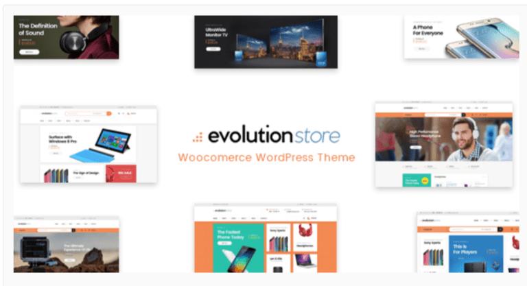 Evolution - WordPress Admin Themes