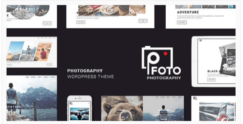 Foto - Photography WordPress Themes