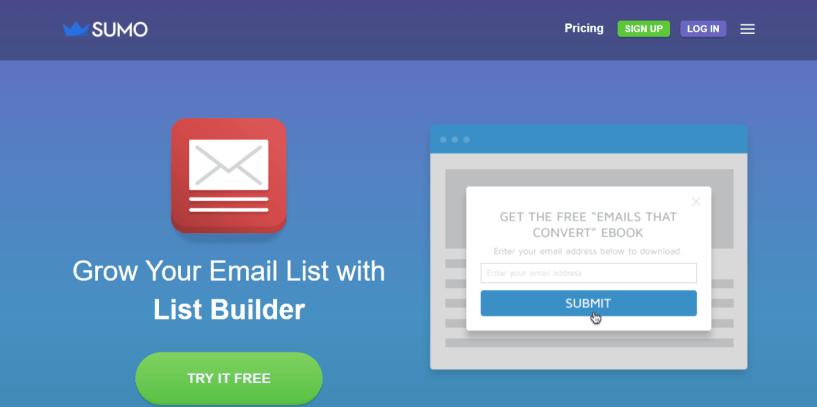 List Builder for Sumo- WordPress Email Marketing Plugins