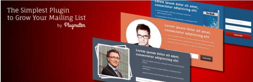 Plugmatter Optin Feature Box — WordPress Email Marketing Plugins