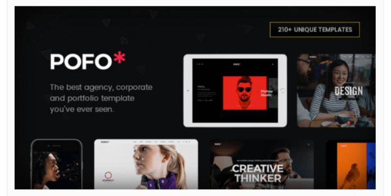 Pofo- WordPress Business Themes
