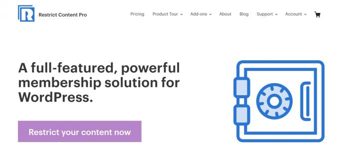 Membership Plugin- Restrict Content Pro