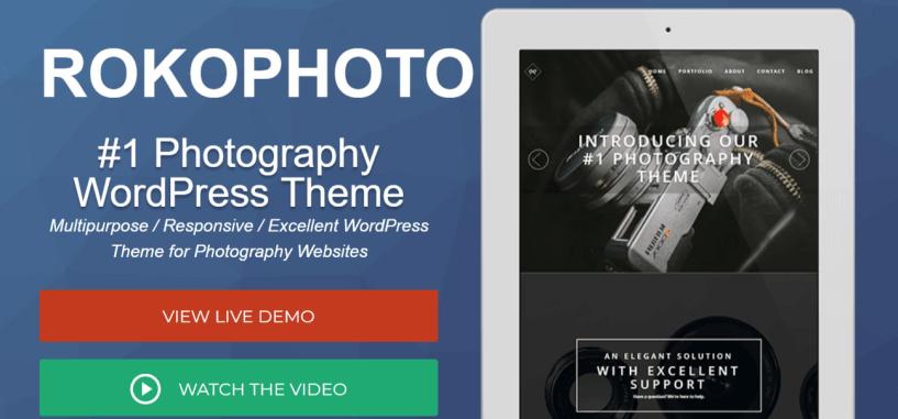 RokoPhoto__ WordPress Photography WordPress Theme