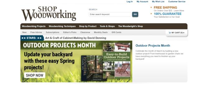 Shop Woodworking - Art Affiliate Programs