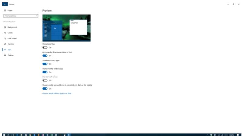 Start up menu- Tips to speed up Windows 10