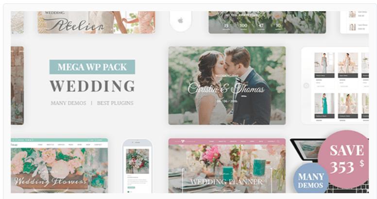 Wedding Industry- WordPress Wedding Themes