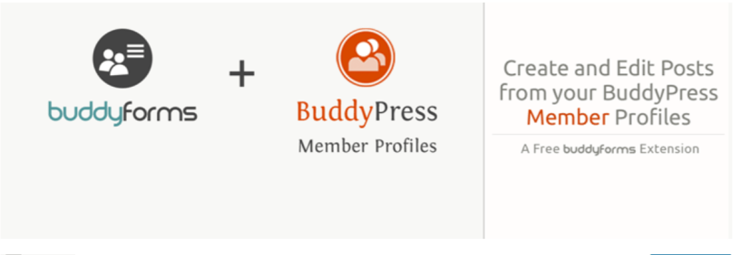 BuddyForms Members — Best BuddyPress Plugins