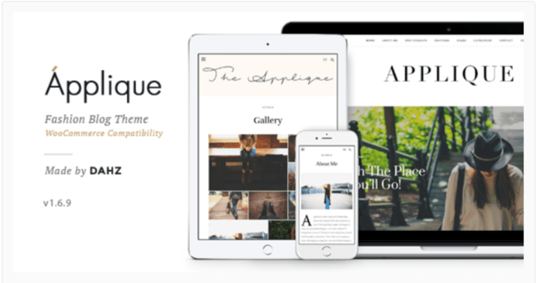 Fashion Blog- Fashion WordPress Themes