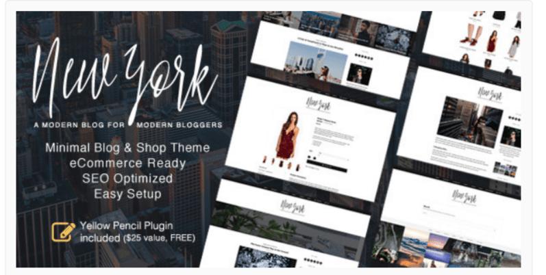 New York - Fashion WordPress Themes