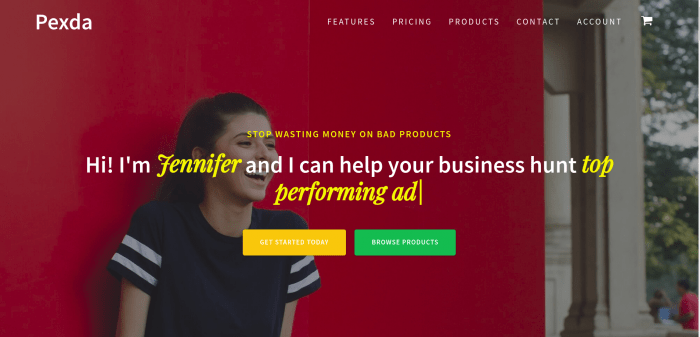 Pexda- Find Winning Shopify Products
