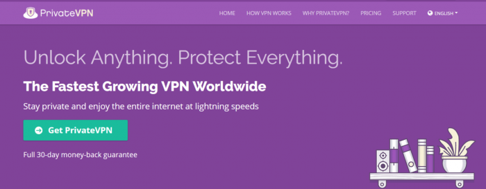 PrivateVPN - Best VPN For Syria