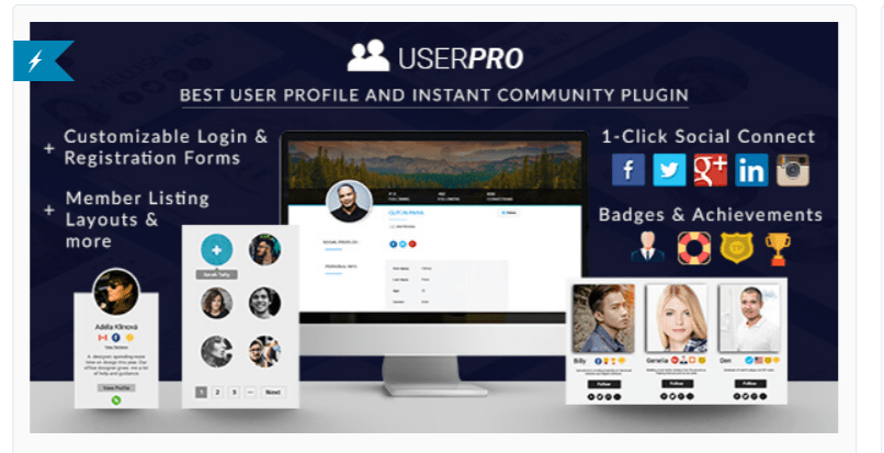 UserPro - Best BuddyPress Plugins
