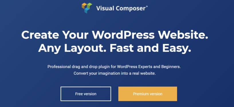 Visual Composer - WordPress Page Builder Plugins