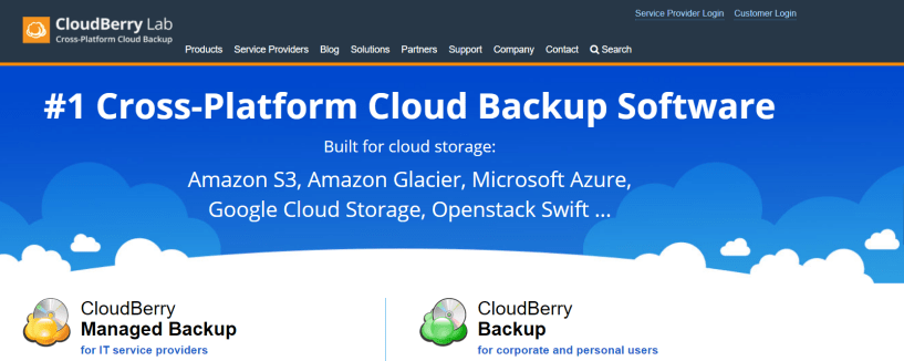 CloudBerry Backup- Best Cloud Backup Service For Mac