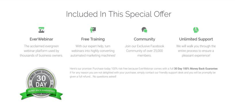 EverWebinar Included Offer- EverWebinar Review
