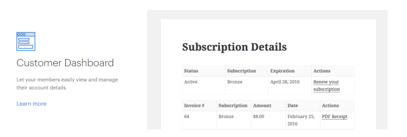 Subscription Reports