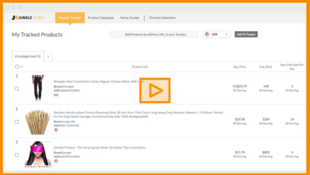 How To Find The Best Products To Sell On Amazon- Junglescout Product Tracker