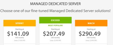 Managed Dedicated Server Hosting- A2 Hosting Review
