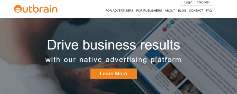 Outbrain - Best Native Ads Network