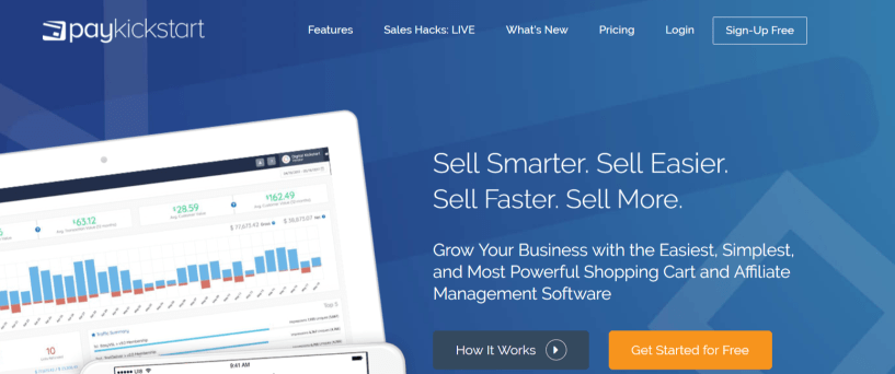 Stock Finder Samcart Landing Page Software