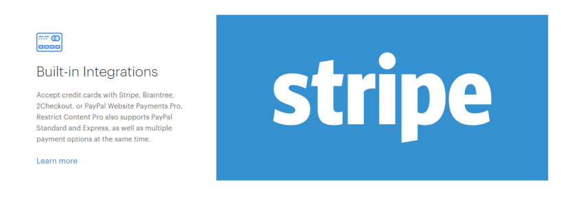 Restrict Content Pro- Integrations