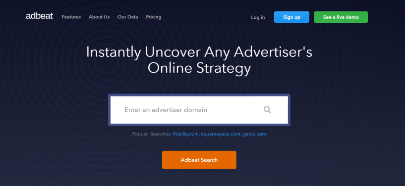 Adbeat Review - Competitive Intelligence For Display Advertisers