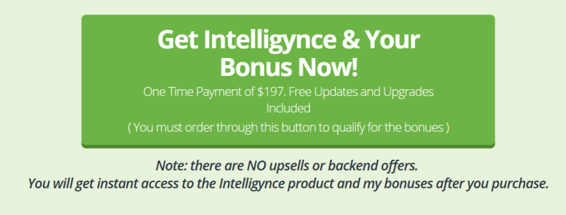 Intelligynce Review- Pricing And Bonus
