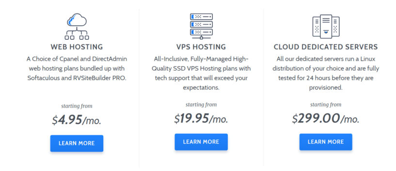 RoseHosting Review With Coupon Codes- Pricing