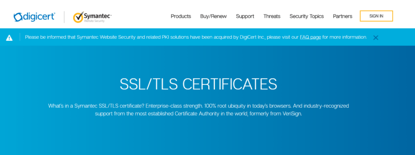 Symantec- Trust Badges To Increase Sales Conversion