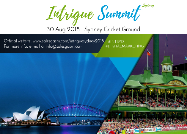 Intrigue Summit event