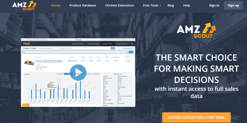 AMZScout Review- Amazon Product Trends Research Tool