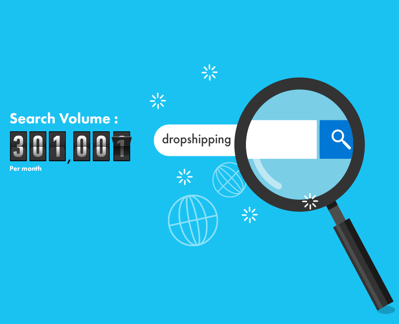 Monthly Search of Dropshipping- Dropshipping Guide