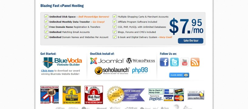 cheap web hosting- vodahost