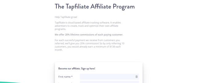 review for tapifiliate affiliate program