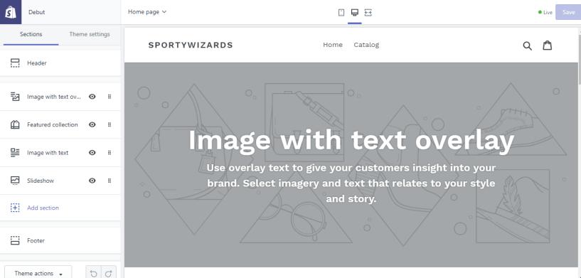 shopify store customization