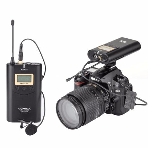 vlogging guide equipment comica WM100 for bloggersideas