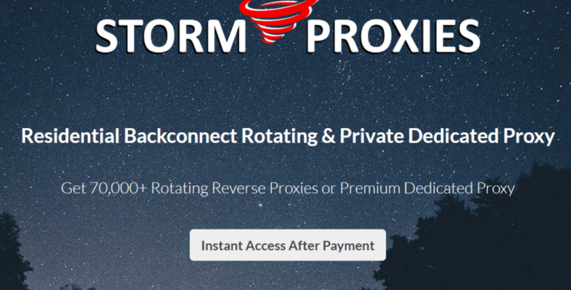 Best Residential IPs Proxy Network for Craigslist Scraping- craigslist stormproxies