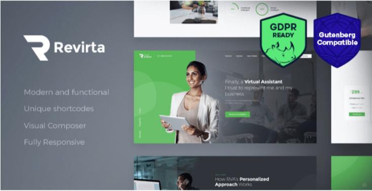 Revirta- Best Job WordPress Themes
